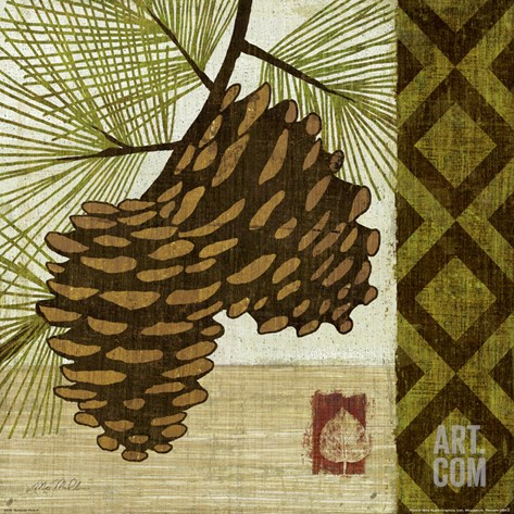 Summer Pine II Stretched Canvas Print