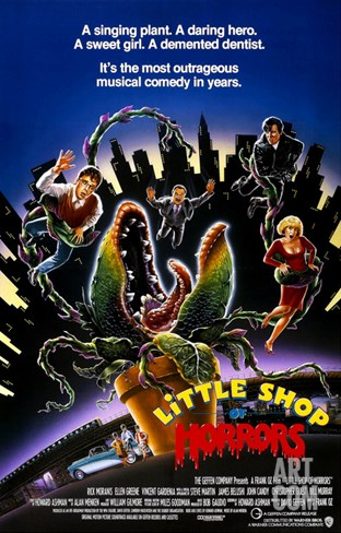 Little Shop of Horrors, 1986 Stretched Canvas Print