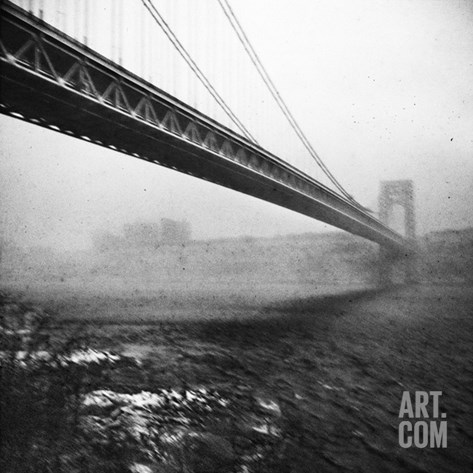 GWB Plenachrome Blur Stretched Canvas Print