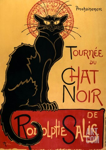 Tournée du Chat Noir, c.1896 Stretched Canvas Print