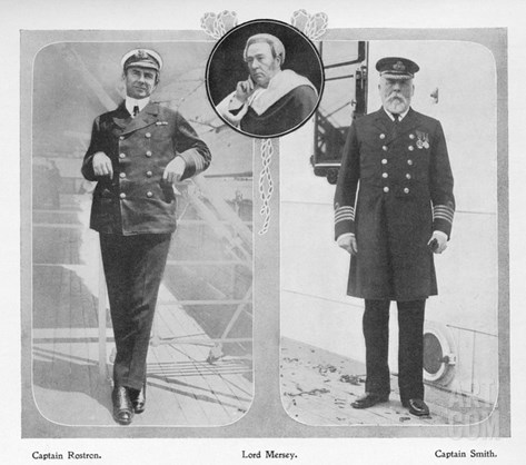Arthur Henry Rostron, Captain of RMS Carpathia Which Rescued Titanic Surviv Stretched Canvas Print
