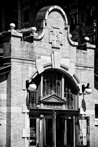Station Entrance of 72nd Street, IRT Broadway Subway Station, Upper West Side, Manhattan, New York Stretched Canvas Print