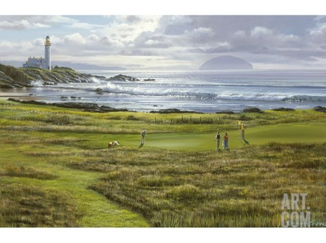 Turnberry Stretched Canvas Print