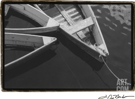 Dockside 3 Stretched Canvas Print