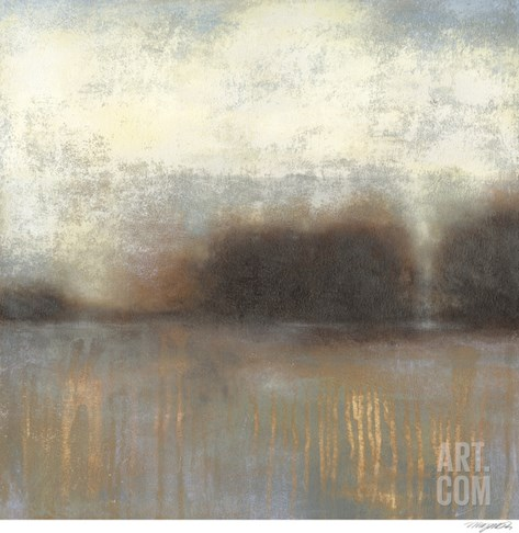 Haze II Stretched Canvas Print