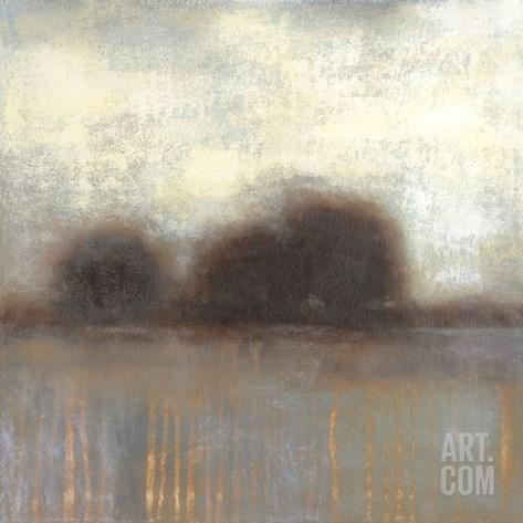 Haze I Stretched Canvas Print