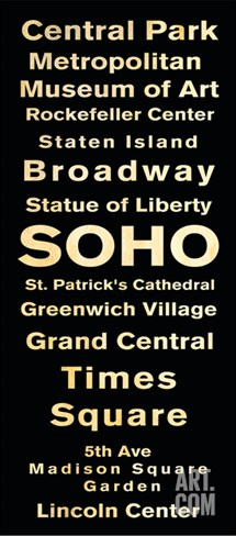 Soho Stretched Canvas Print