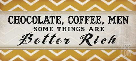 Chocolate Coffee IV Stretched Canvas Print