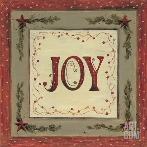 Joy Stretched Canvas Print