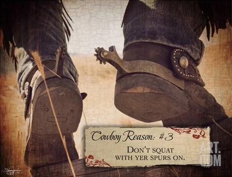 Cowboy III Stretched Canvas Print