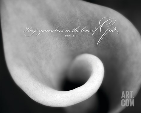 Love of God Stretched Canvas Print
