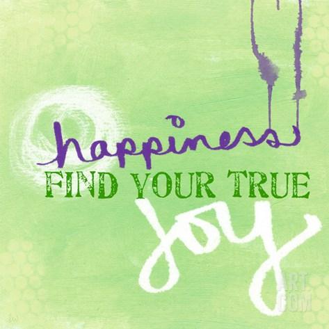 Joy Stretched Canvas Print