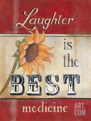 Laughter Stretched Canvas Print